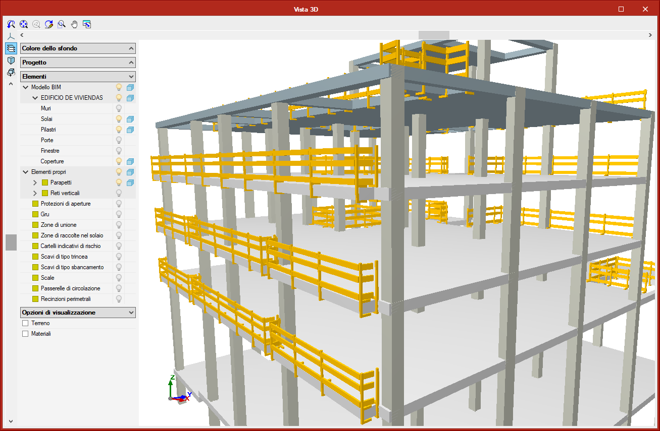 Open BIM Health and safety